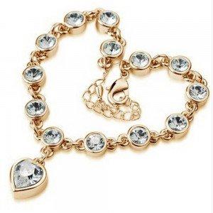 Bracelet - Coeur De L'Océan - Titanic V2 - Doré