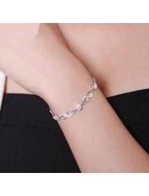 Bratara - Infinity, Premium V2 - Argint