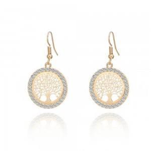 Earrings - Tree Of Life - Premium - Gold