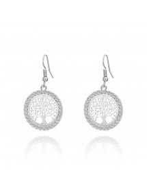 Earrings - Tree Of Life - Premium - Silver