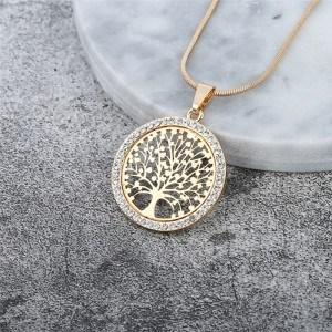 Колие - Дървото на живота - Премиум V3 - Злато