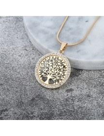 Collar - Árbol de la Vida - Premium-V3 - Oro