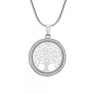 Halskette - Baum des Lebens - Premium V3 - Silber