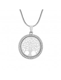 Necklace - Tree of Life - Premium-V3 - Silver