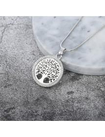 Collana Albero della Vita - Premium-V3 - Argento