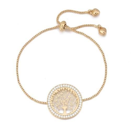 Armband, Baum Des Lebens - Premium V3 - Gold