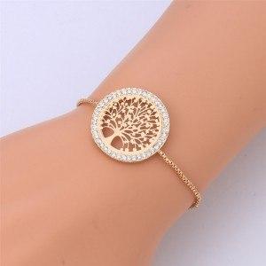 Bracelet - Arbre De Vie - Premium V3 - Doré