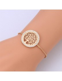 Bracelet - Tree Of Life - Premium-V3 - Golden
