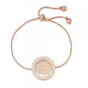 Armband, Baum Des Lebens - Premium V3 - Gold (Rose Gold)