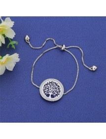 Гривна - Дървото на живота - Премиум V3 - Сребро