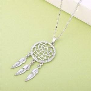 Necklace - Catch Dream Premium V2 - Silver