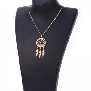 Collar De La Captura Del Sueño Premium V2 - Oro