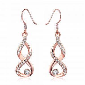 Ohrringe - Unendlich - Premium - Gold (Rose Gold)