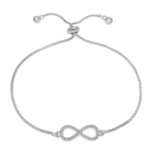 Armbånd - Infinity-Premium-V3 - Sølv
