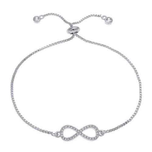 Bracelet - Infinity Premium V3 - Silver