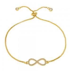 Bracelet - Infinity Premium V3 - Golden