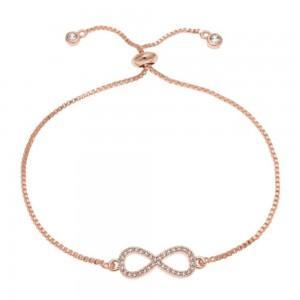 Bracelet - Infinity Premium V3 Gold (Pink Gold)