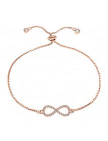 - Bracciale Infinity Premium V3 Gold (Oro Rosa)