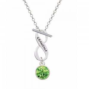Necklace Infinity For Silver 1 First Name Peter Birth + Gift Box