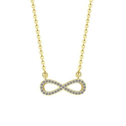 Necklace - Infinity, Premium V2 - Golden