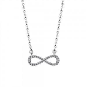 Collana Infinity, Premium V2 - Argento