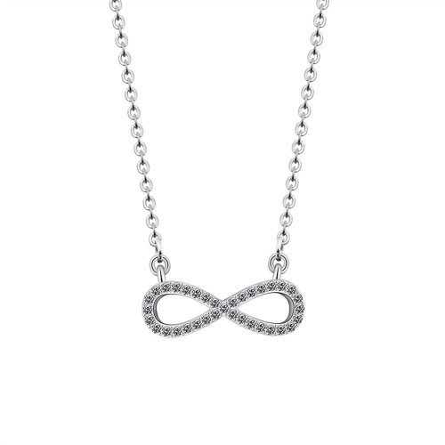 Collar - Infinito, Premium V2 - Plata