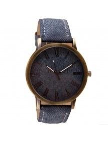 Men's Watch - Jean - V2 - Pu Leather - Blue