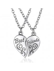 Огърлица - Най - Добри Приятели- Най-Добрите Приятелки - Simply - Сребърен