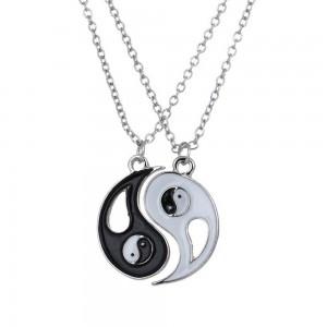 Collar, Torque - Ying Yang - Silver
