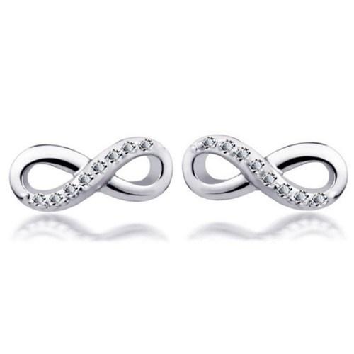 Ohrringe - Unendlich Simply - Silber