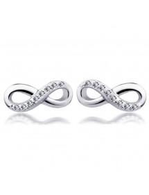 Fülbevalók - egyszerűen Infini - ezüst