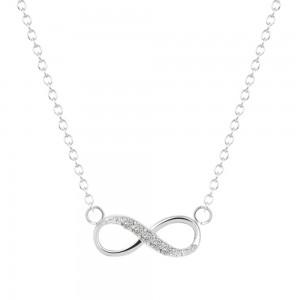 Halsband - Oändlig Helt Enkelt - Silver