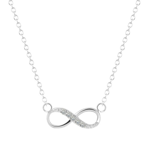 Necklace - Infinite Simply - Silver