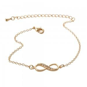 Bracelet - Infini - Simply - Doré