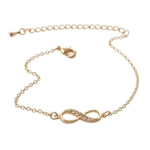Bracelet - Infinity - Simply - Golden