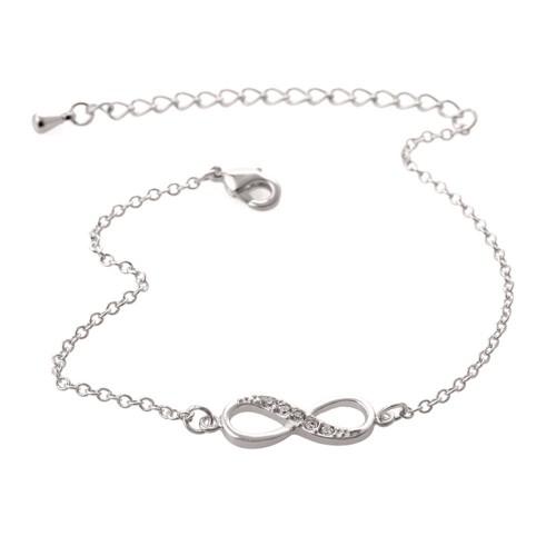 Bracelet - Infini - Simply - Argenté