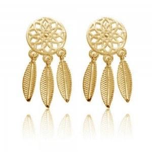 Earrings - Catch Dream-Simply - Golden