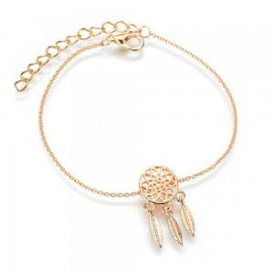 Bracelet - Catch Dream-Simply - Golden