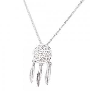 Halskette - Fängt Traum Simply - Silber