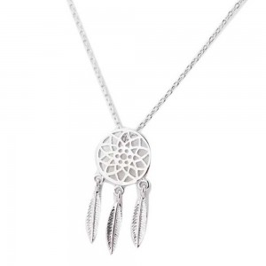 Necklace - Catch The Dream Simply - Silver