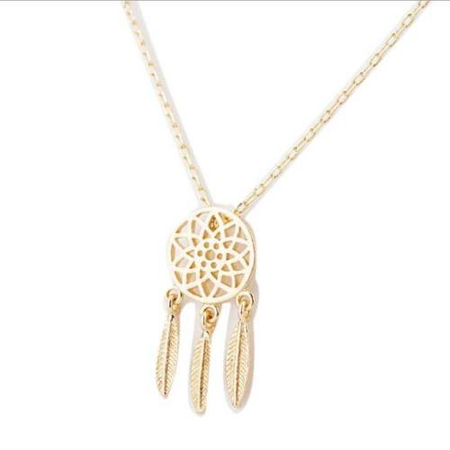 Necklace - Catch The Dream Simply - Golden