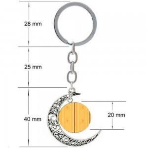 Porte-Clé Lune Dimensions