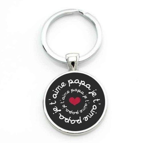 Door-Key - Round - Gift - Father- I love You Dad V2