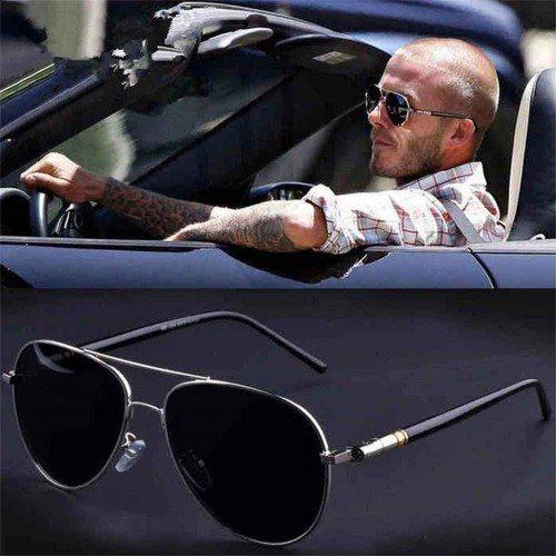 Слънчеви Очила Мъжки Стил Авиаторски 2