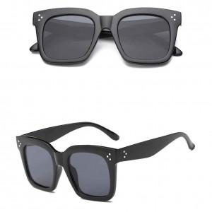 Sonnenbrille Frau - Kim - hohe Gläser-und Geschirr - Schwarz 2
