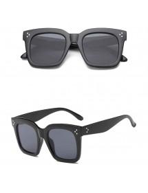 Sunglasses Woman - Kim - Glasses Large and Flat - Black 2
