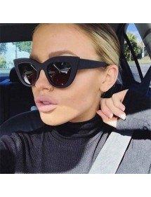 Sunglasses Woman Cat Eye - Cat Eye - Black