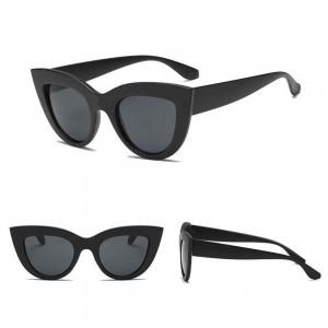 Sunglasses Woman Cat Eye - Cat Eye - Black 3