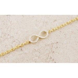 Bracelet Infini Premium Couleur Or