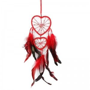 Attrape Rêve Coeur Rouge
